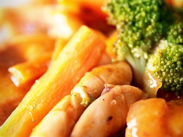 resep cumi asam manis sayur