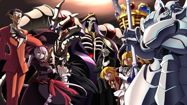 Overlord - Top Anime Overpower (Main Character Strong from the Beginning)
