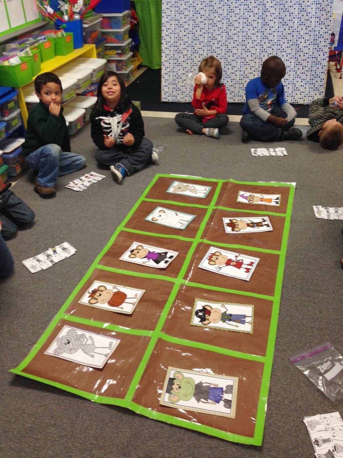 Chalk Talk A Kindergarten Blog Five Little Monkeys Trick
