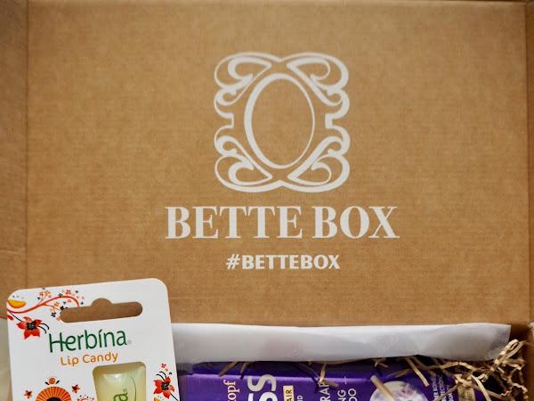 Huhtikuun Bette Box - plussat ja miinukset