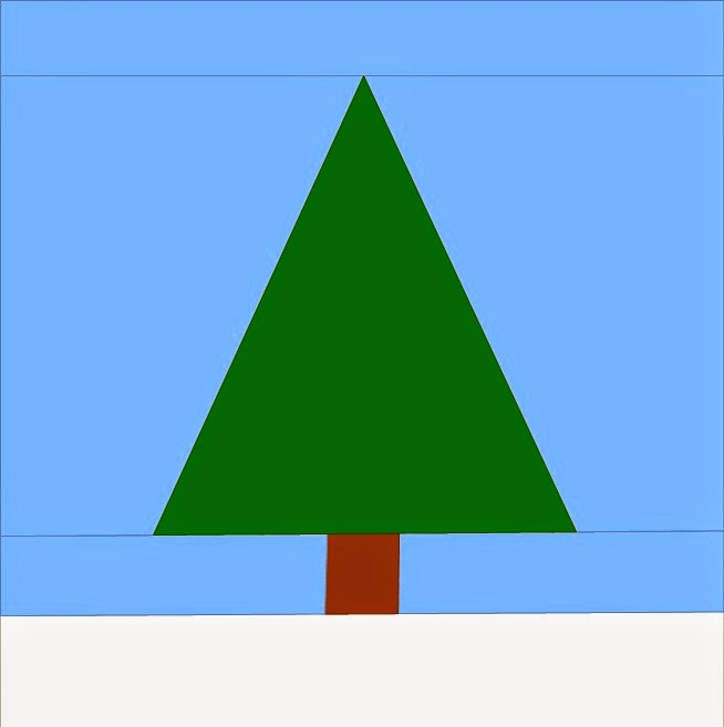 Paper Pieced Christmas Tree Pattern: Adventurous Quilter: Beginners Paper Piecing Turorial