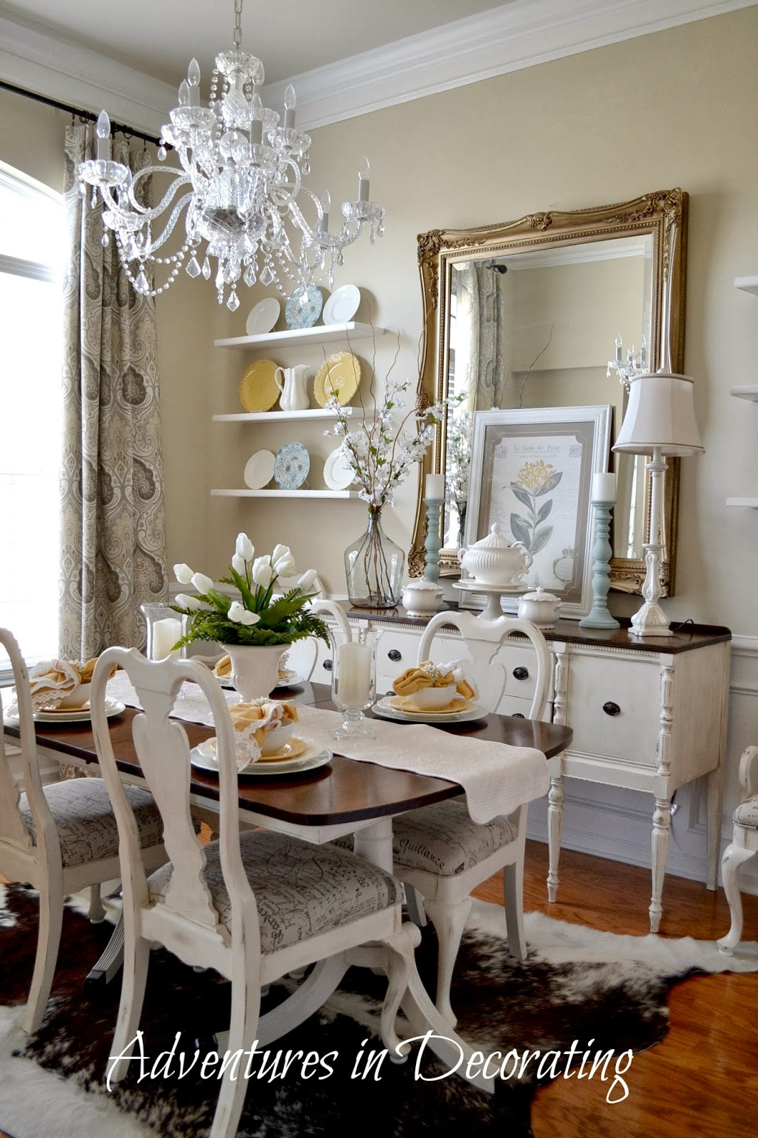 Designs Of Rooms: Adventures In Decorating: Our Refreshed Dining Room