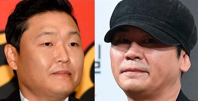 PSY fue convocado para investigaciones policiales por el escándalo de Yang Hyun Suk