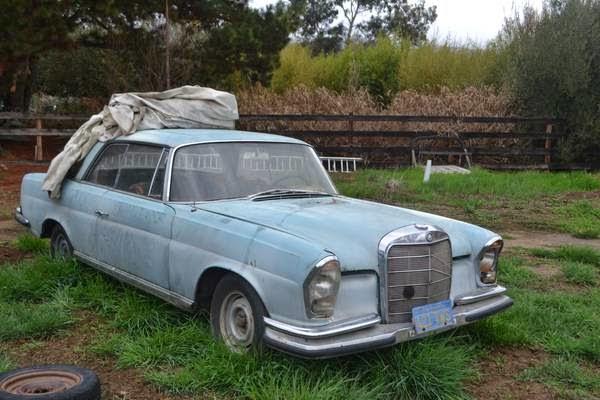 Restoration Project Cars 1964 Mercedes Benz 220se