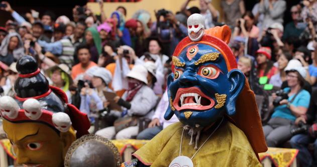 Guru Tsokye Dorje or Padma Vajra at Hemis Monastery Festival 2016