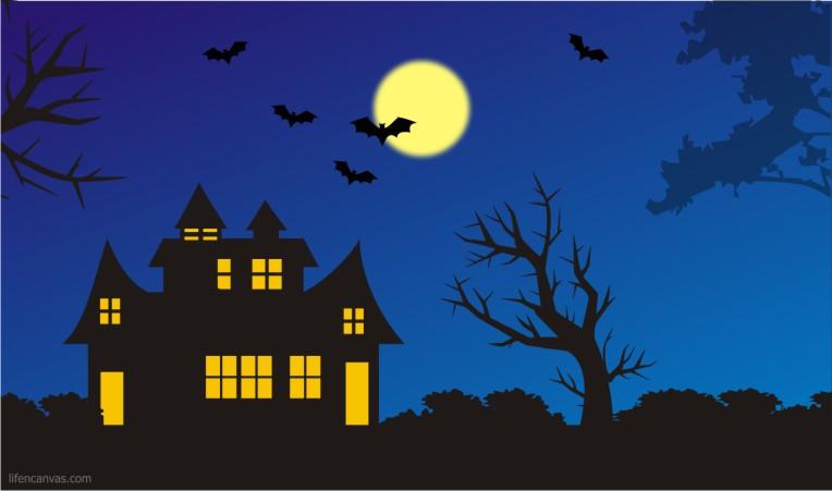 October 2012 life n canvas - Cartoon haunted house pics ...