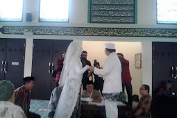 Contoh Broadcast Undangan Pernikahan