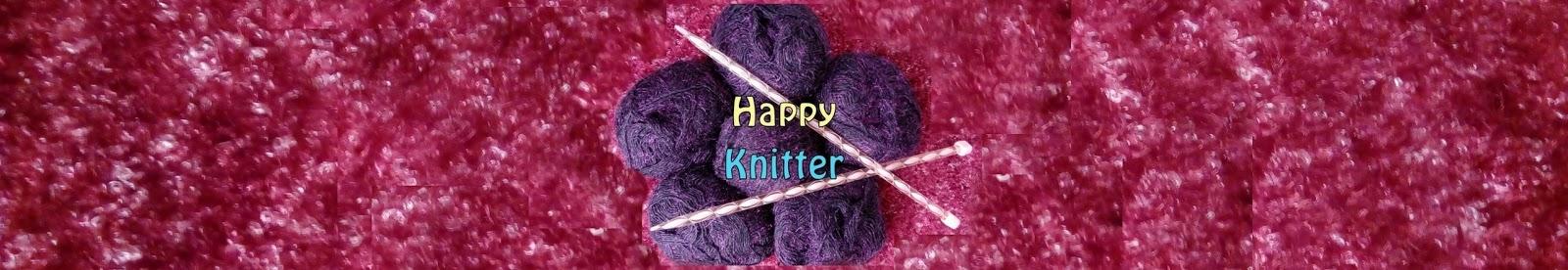 Happy knitter logo