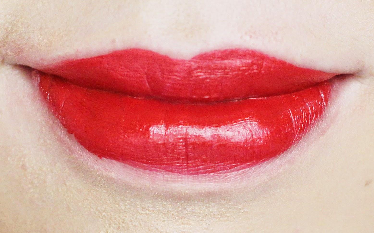 NARS Audacious Lipstick Swatches Rita