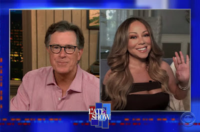 "ItsNotYouItsMe Media ""Back To The Future"" Celebrates Mariah Carey's New Memoir About Her Past W/ Late Night Comedian King Stephen Colbert!"