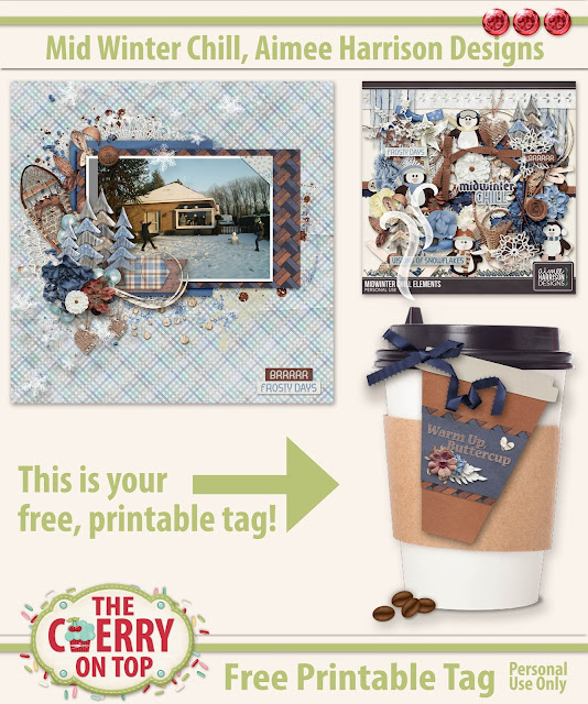 Free Printable Tag from The Cherry On Top and Aimee Harrison Designs