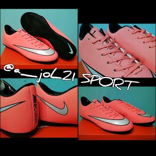 Sepatu Futsal - Nike Mercurial Vapor X Pink Made in Italy Ready Size 39 40  41 42 43 44 45. Harga Rp.2xx.xxx 8f59da05649c7
