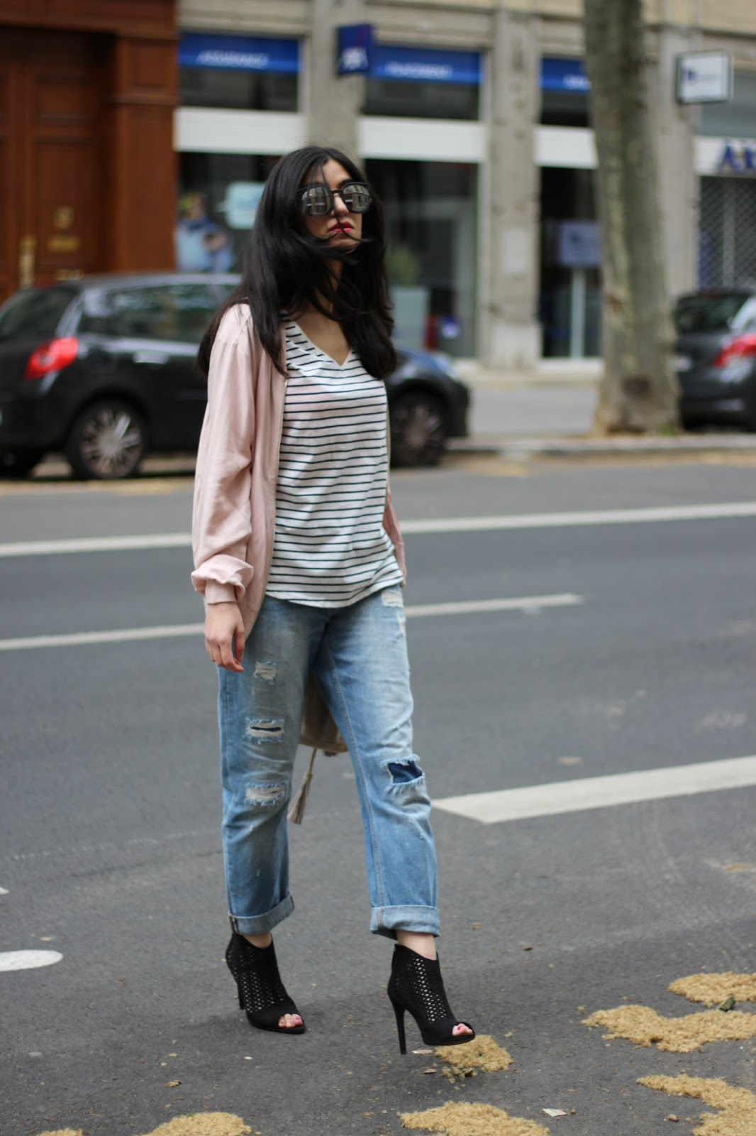 blog mode, blog mode lyon, blog mode lyon paris, blog mode paris, bomber rose, marinière, grain de malice, new look, discoverss16, bomber, boyfriend, modeuse, blogueuse mode, fblogger, blogueuse à lyon, jimmy fairly