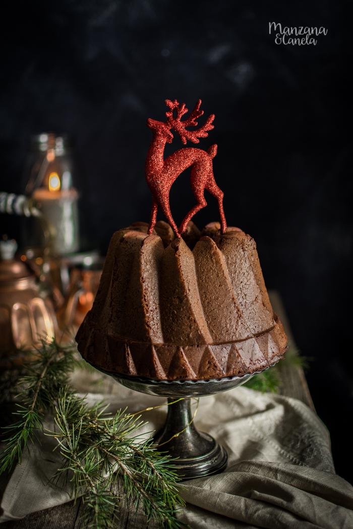 Kugelhopf. Bollo alsaciano de Navidad