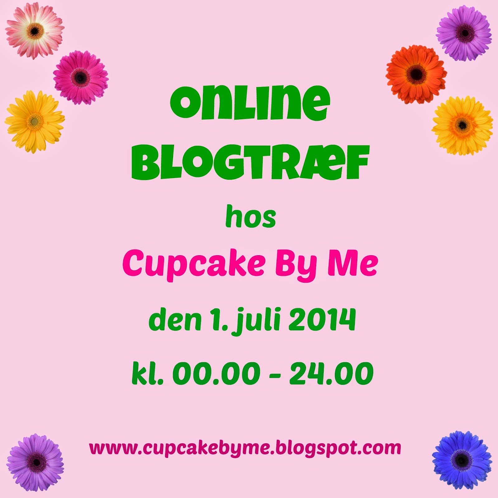 Cupcake By Me Blog ©: Online blogtræf