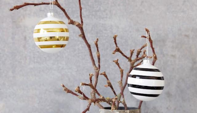 Stylové vánoční baňky