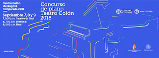 CONCURSO DE PIANO Teatro Colon 2018