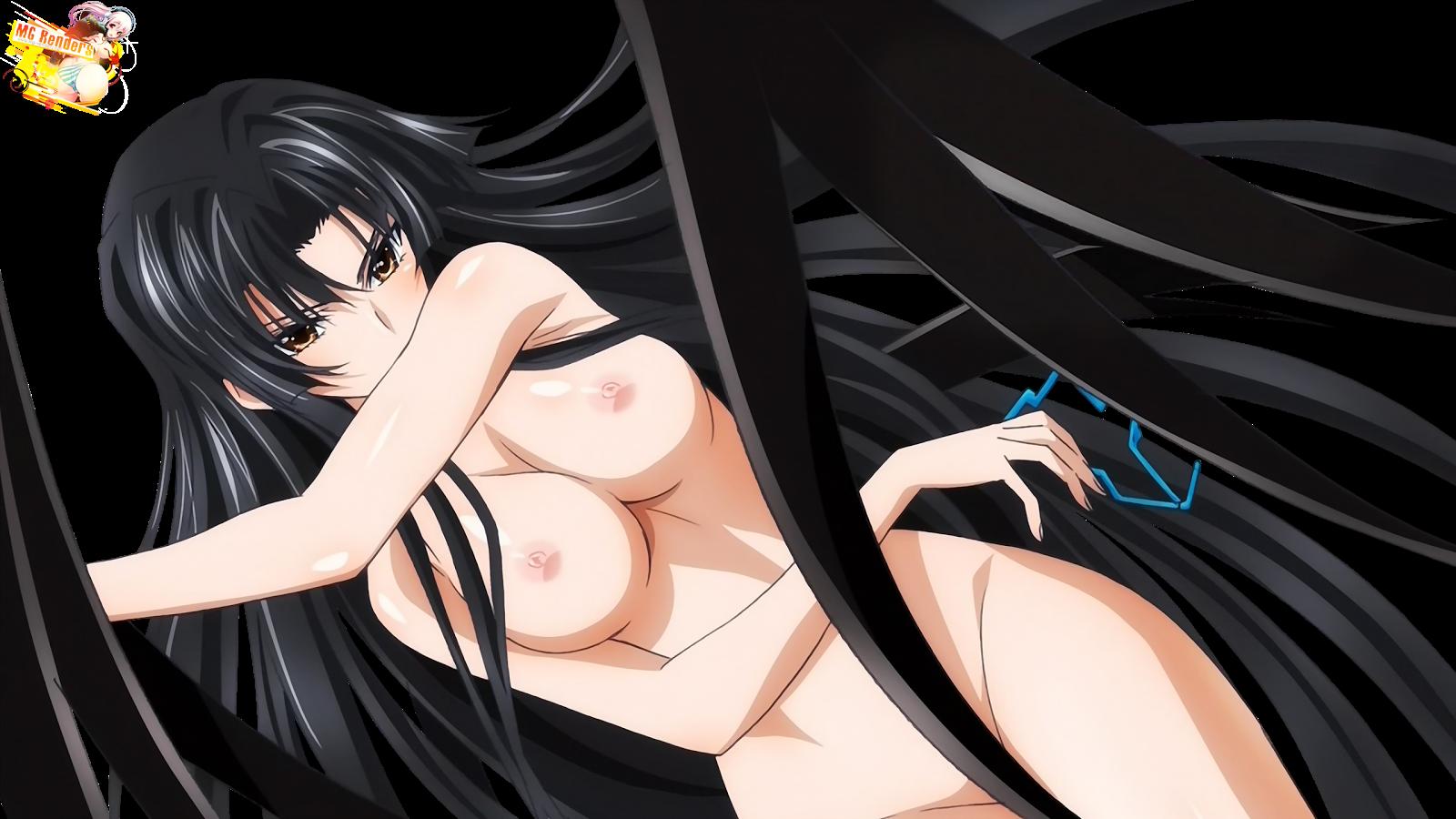 High School DxD - Shinra Tsubaki Render 1