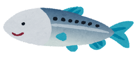 イワシのイラスト(魚)