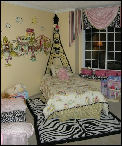 Decorating Theme Bedrooms - Maries Manor: Paris Themed Bedroom