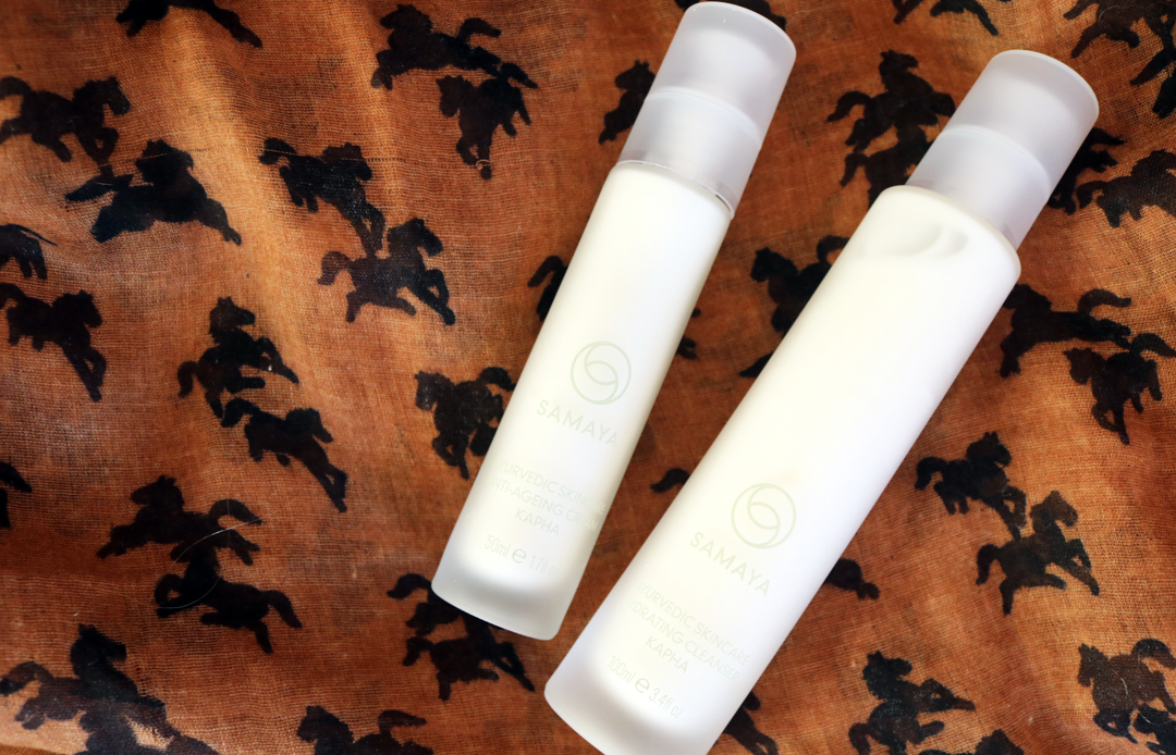 SAMAYA Kapha Hydrating Cleanser & Anti-Ageing Cream review