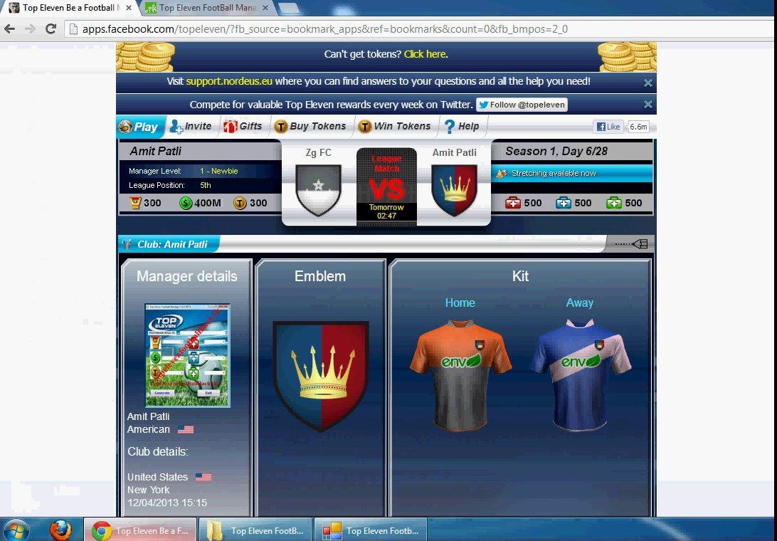 Top eleven hack with cheat engine 100% youtube.
