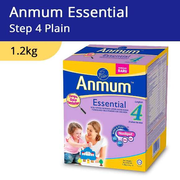 Anmum Essential Step 4 Plain 1.2kg