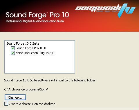 Sony Sound Forge Pro v10.0 Descargar 1 Link 2012