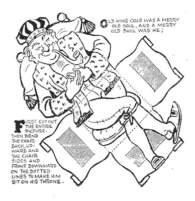 Mostly paper dolls old king cole cut out by a w nugent for Old king cole coloring page