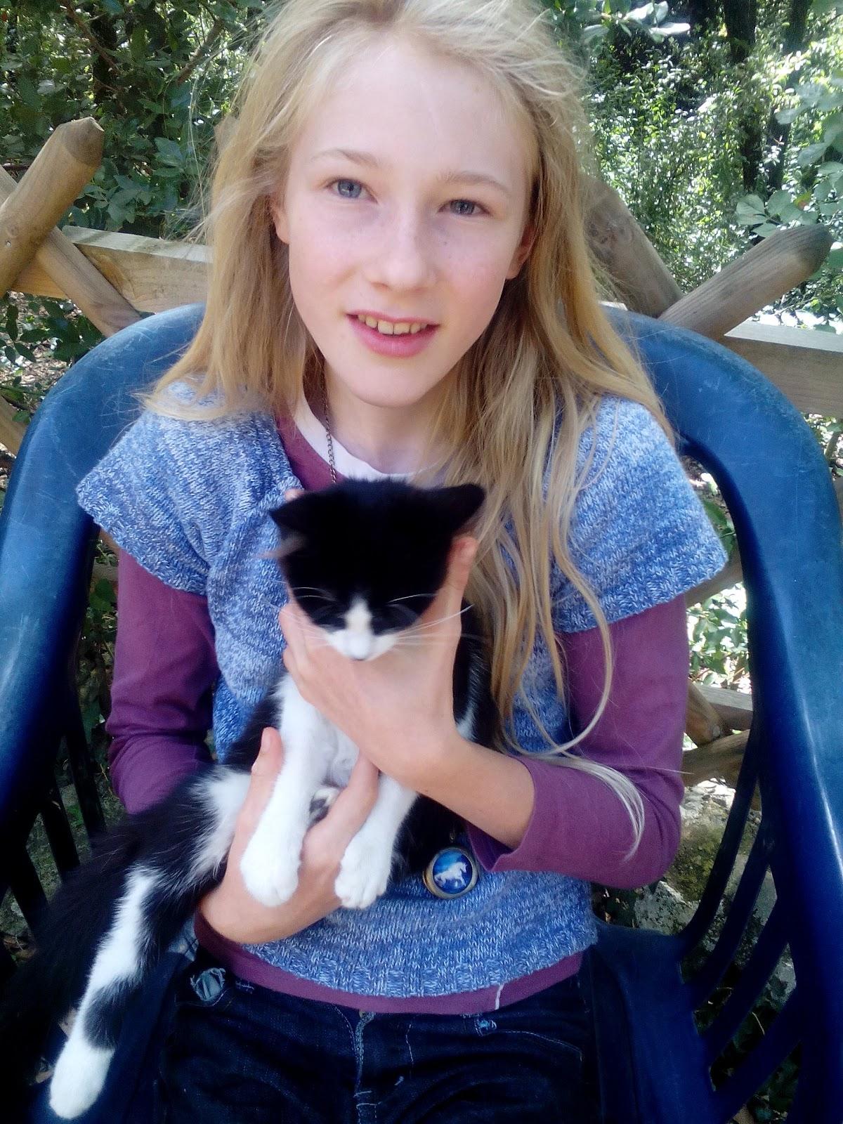 I luv noir chatte