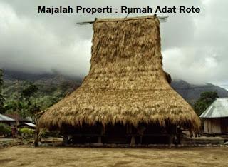 Desain Bentuk Rumah Adat Rote dan Penjelasannya, Rumah Adat Musalaki