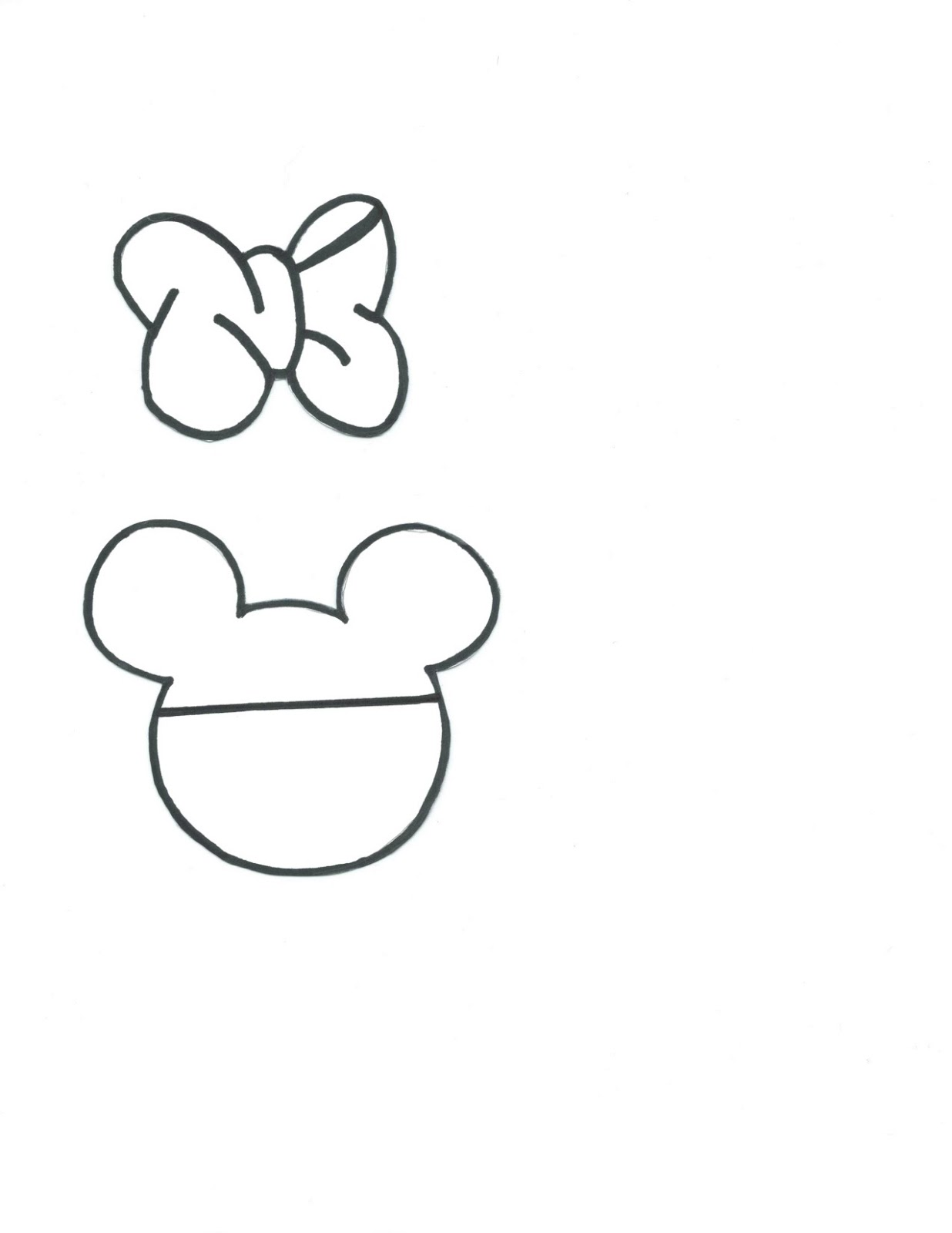 Displaying 19> Images For - Minnie Mouse Shoe Template...