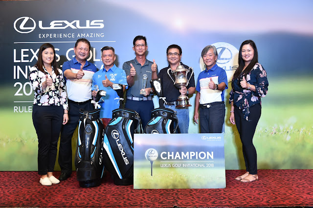 Lexus Golf Invitational 2018 Champion