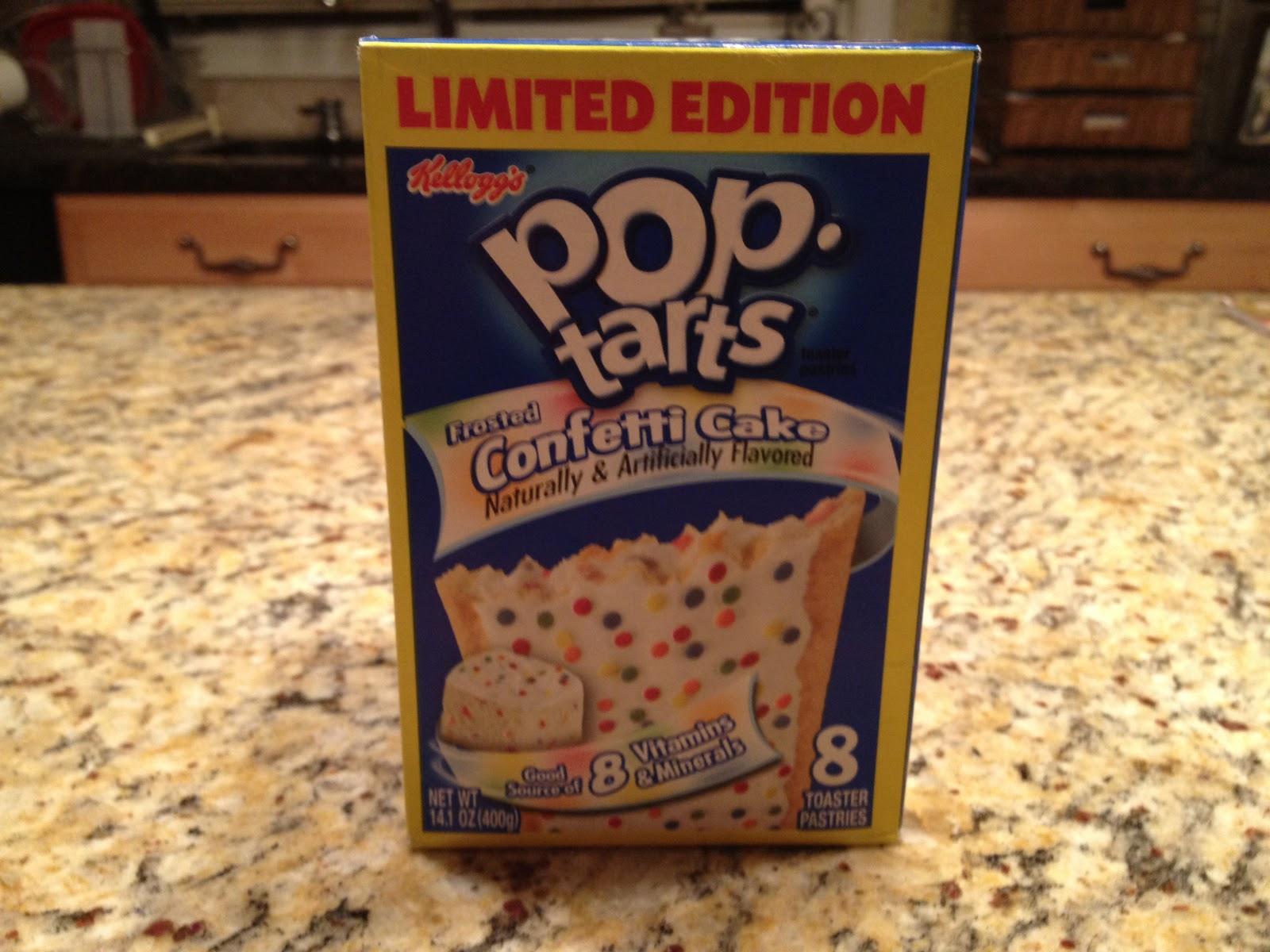 Kelloggs Limited Edition Confetti Cake Pop Tarts
