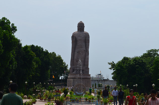 80 feet tall Buddha Statue, Sarnath