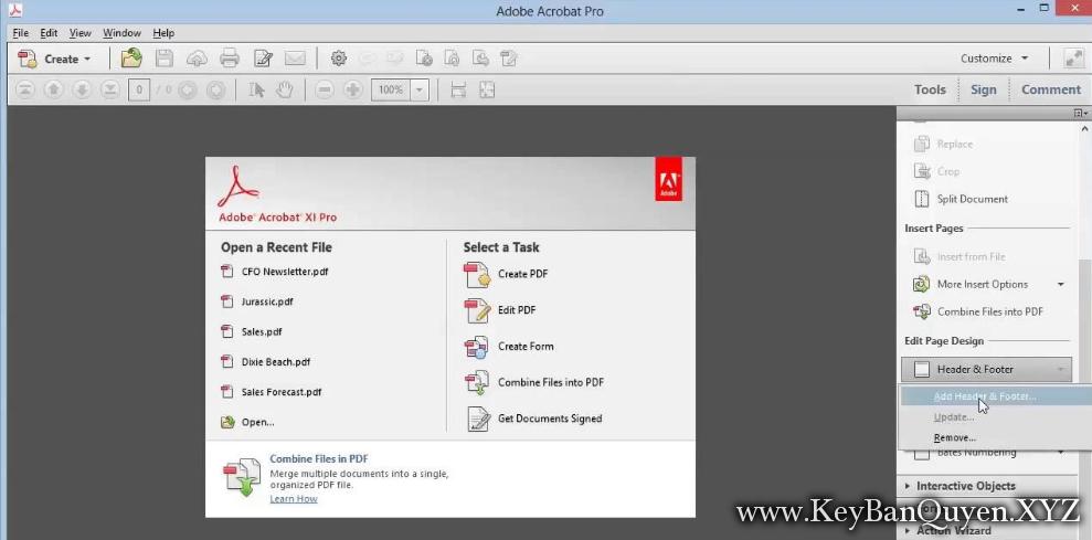 Adobe Acrobat XI Pro v11.0.23 Final Full Key , Phần mềm biên tập và chỉnh sửa file PDF chuyên nghiệp.