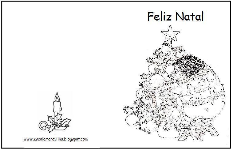 Cartões de Natal - Etiquetas - Mundinho da Criança
