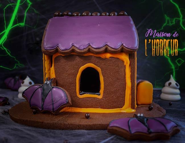 maison hantée biscuits