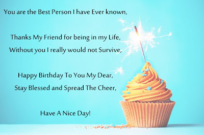Beautiful Happy Birthday Poems for Best Friends
