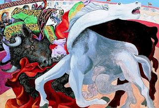 Corrida de toros: muerte del torero - Pablo Picasso