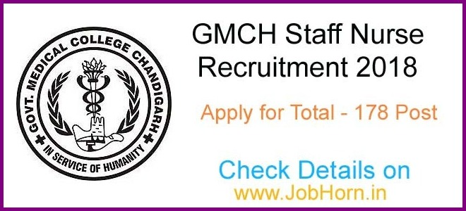 GMCH-Chandigarh-Recrutiment-of-Staff Nurse
