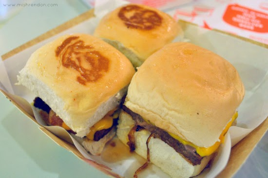 Slammin Mini Burgers + Fries + Dips at Trinoma Mall