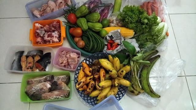 lenih pilih mana belanja bahan makanan harian atau mingguan