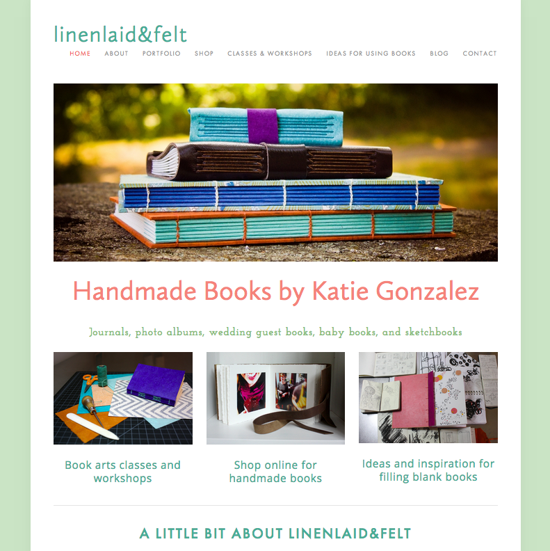 linenlaidfelt.com book website