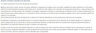 FISCALIDAD DERECHOS DE SUSCRIPCIÓN