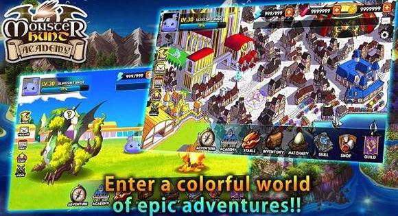 Monster Hunt Academy Mod Apk