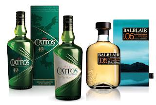 Catto's Balblair Grupo Luis Caballero whiskies