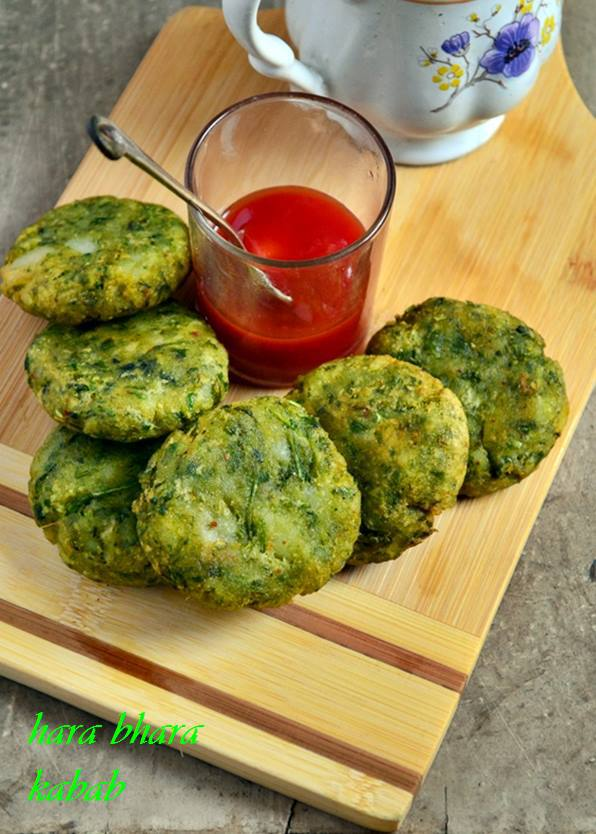 Indian breakfast snacks lunchbox ideas for kids hara bhara kabab is tasty and healthy follow harinis instructions with pictures hara bhara kabab recipe is a popular north indian snack forumfinder Gallery