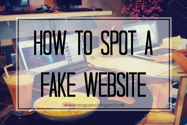 how to make a fake website