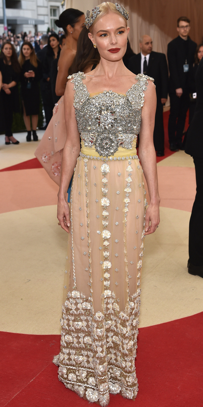 Kate Bosworth 2016 MET GALA